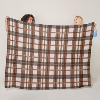 Cozy Fall Fleece Blanket