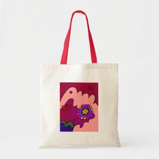 Cozy Flower Tote Bag