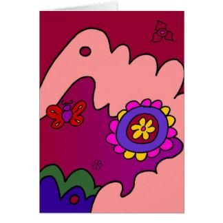 Cozy Flower Card