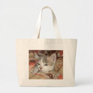 Cozy Furrball Canvas Bag