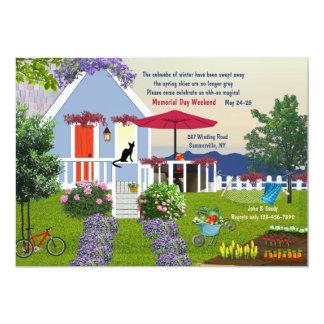 Cozy Garden Invitation