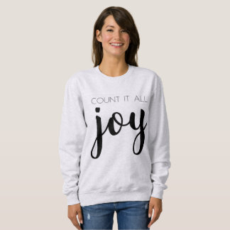 Cozy Grey Count it All Joy Sweatshirt