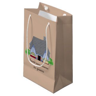 Cozy House Small Gift Bag