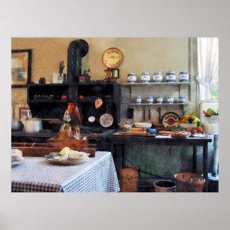 Cozy Kitchen Poster