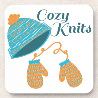 Cozy Knits Drink Coaster