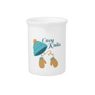 Cozy Knits Beverage Pitcher