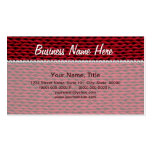Cozy Knitted Texture Business Card