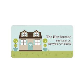 Cozy Little Home Address Labels