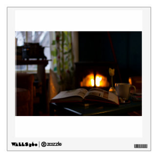 fireplace wall decals wall stickers zazzle