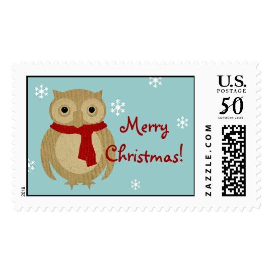 Cozy Owl Stamp