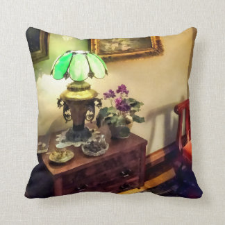 Cozy Parlor with Flower Petal Lamp Pillow