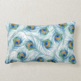 Cozy Peacock Pillow