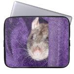 cozy rat Laptop Sleeve