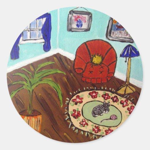 Cozy Room Sticker