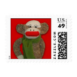 Cozy Sock Monkey Stamp