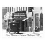 Cozy Theatre Post Card