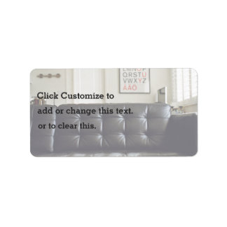 Cozy Themed, Cozy Black Leather Sofa Couch With Wh Label