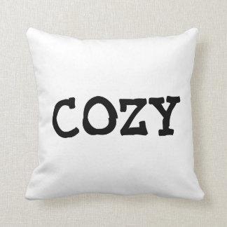 COZY throw pillows