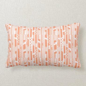 Beach Themed Cozy Tribe Lumbar Pillow