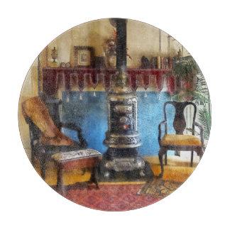 Cozy Victorian Parlor Cutting Board