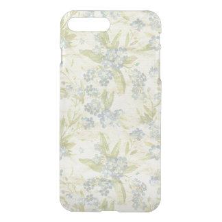 Cozy vintage floral textile Forget Me Not iPhone 7 Plus Case