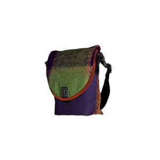 Cozy Warm Plaid Pattern Courier Bag