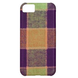 Cozy Warm Plaid Pattern iPhone 5C Case