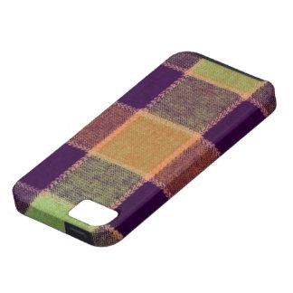 Cozy Warm Plaid Pattern iPhone SE/5/5s Case