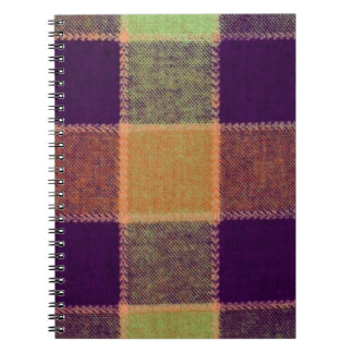 Cozy Warm Plaid Pattern Notebook