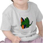CP- Alligator Surfer Dude T Shirts