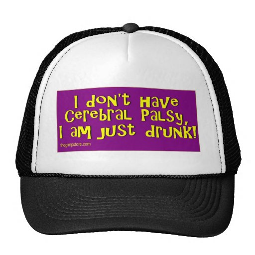 cp_drunk trucker hat