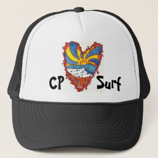 CP Surf, heart hat