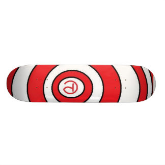 CP Time Warp Red Skateboard