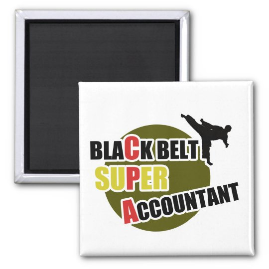 CPA: Black Belt Accountants Magnet