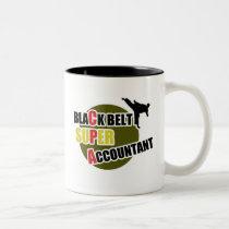 CPA: Black Belt Accountants Two-Tone Coffee Mug