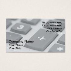 CPA Business Cards at Zazzle