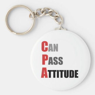 CPA: Can Pass Attitude Keychain