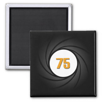 CPA Candidate: Shoot For 75 2 Inch Square Magnet