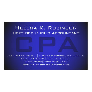 Cpa Business Cards & Templates
