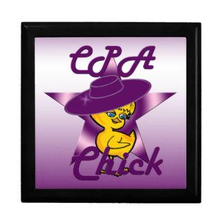 CPA Chick #9 Keepsake Box