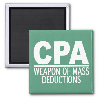 CPA custom color magnet