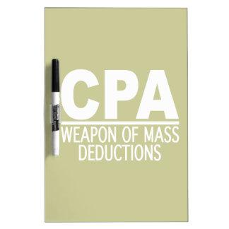 CPA custom color message board