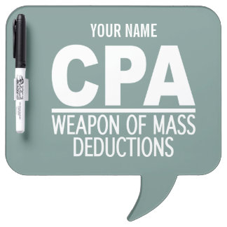CPA custom color message boards Dry Erase Board