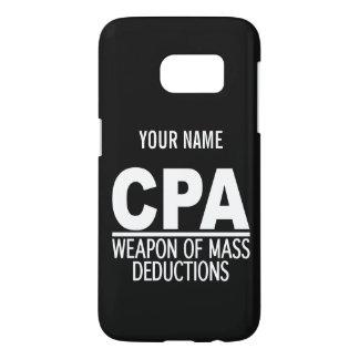 CPA custom color & monogram cases Samsung Galaxy S7 Case