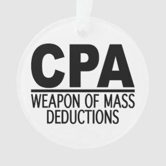 CPA custom color ornament