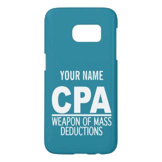 CPA custom monogram & color phone cases Samsung Galaxy S7 Case