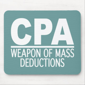 CPA custom mousepad