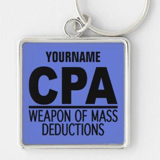 CPA custom name & color key chain