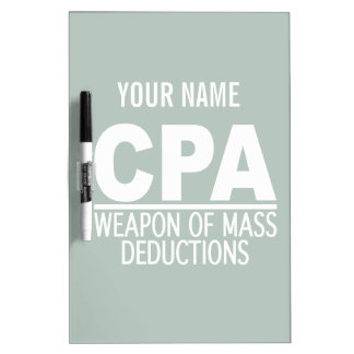 CPA custom name & color message board