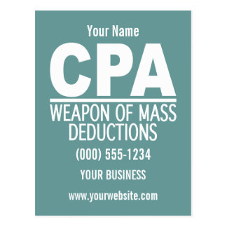 CPA custom postcard